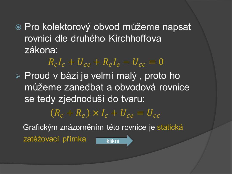 Grafickým znázorněním této rovnice je statická