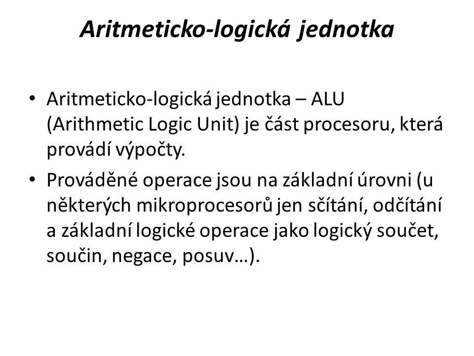 Aritmeticko-logická jednotka