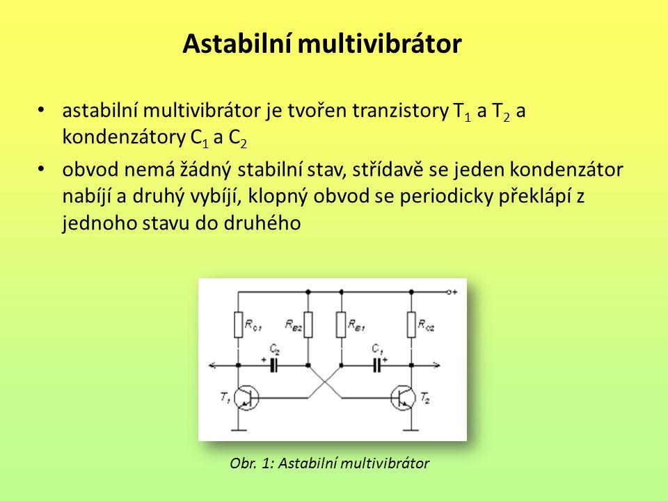 Astabilní multivibrátor