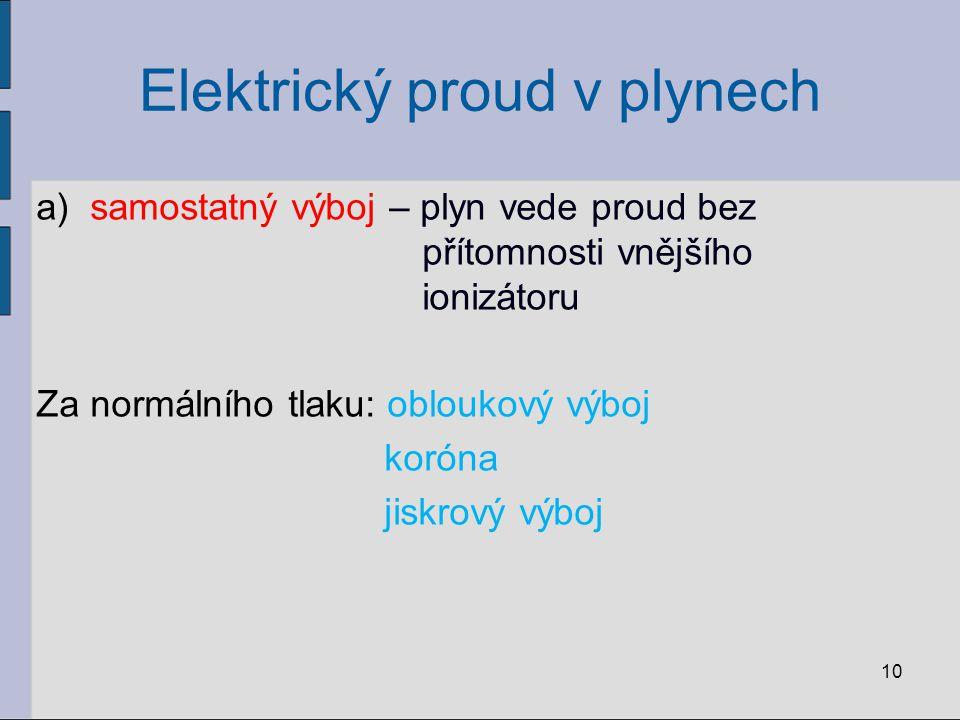 Elektrický proud v plynech