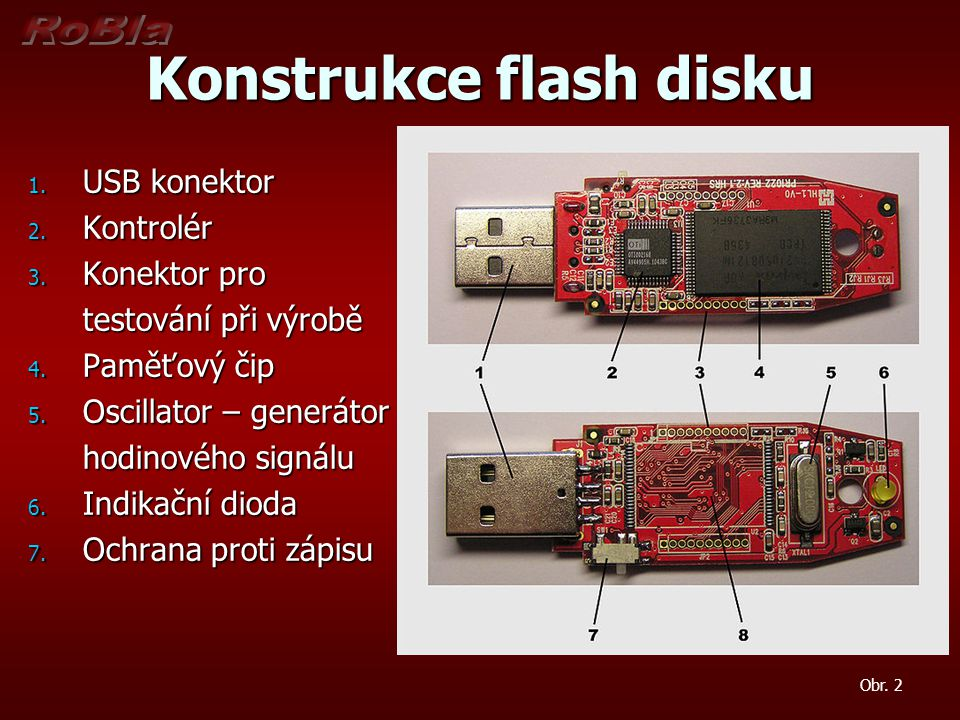 Konstrukce flash disku