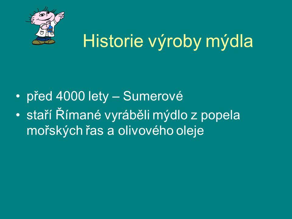 Historie výroby mýdla před 4000 lety – Sumerové