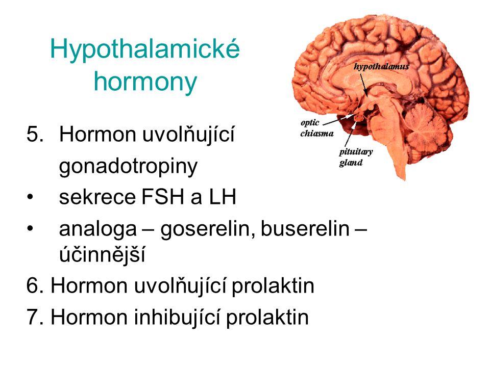 Hypothalamické hormony