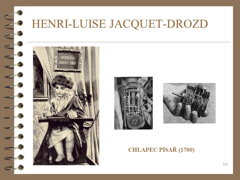 HENRI-LUISE JACQUET-DROZD