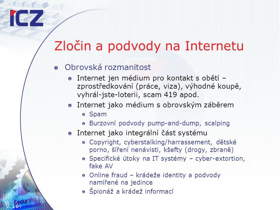Zločin a podvody na Internetu