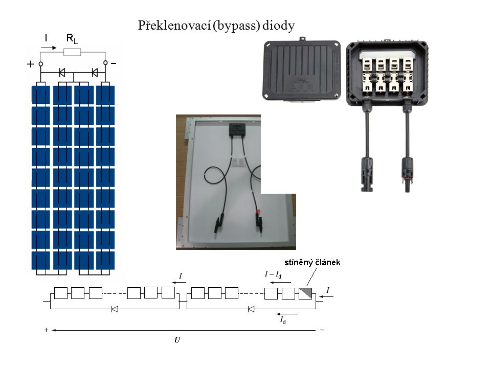 Překlenovací (bypass) diody