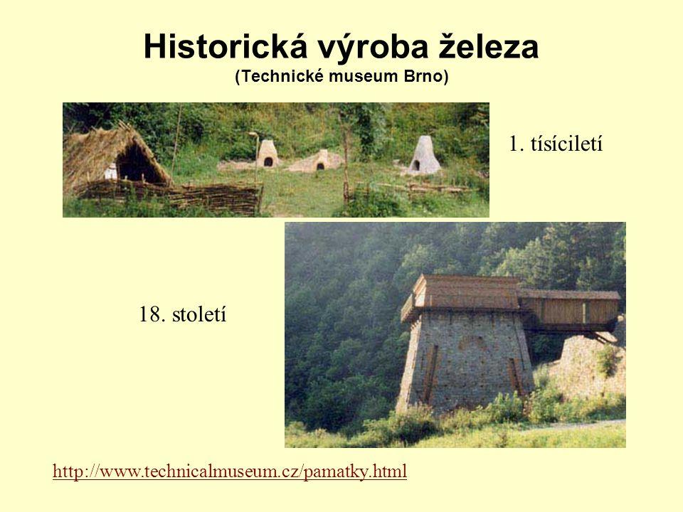 Historická výroba železa (Technické museum Brno)