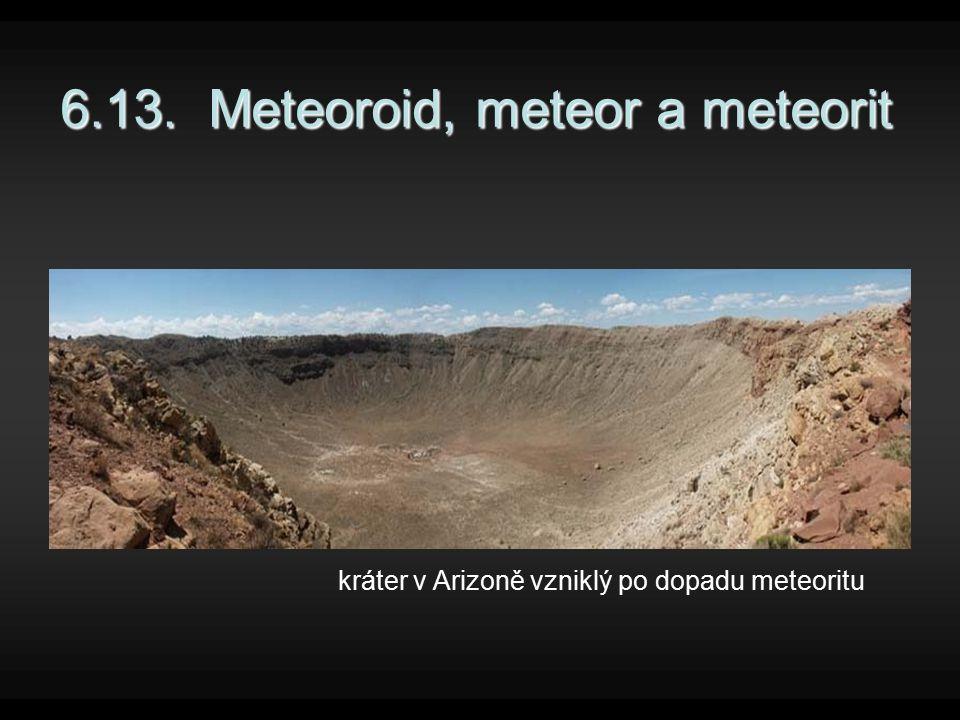 6.13. Meteoroid, meteor a meteorit