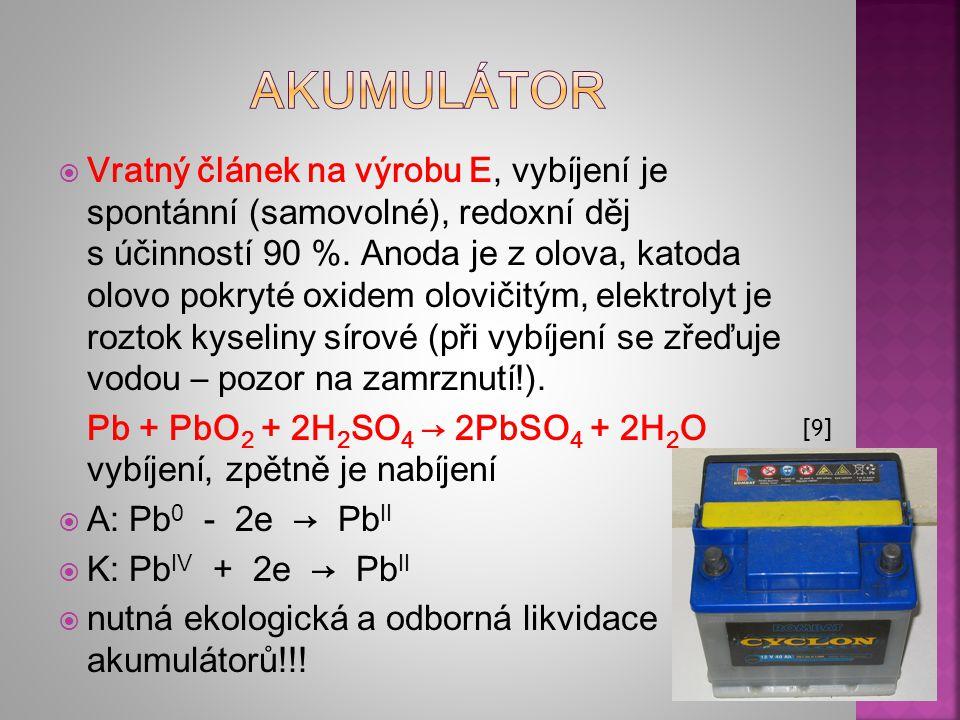 akumulátor