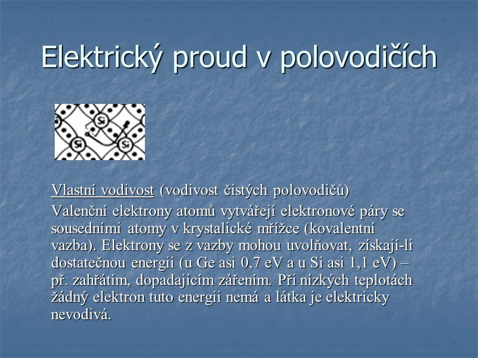 Elektrický proud v polovodičích