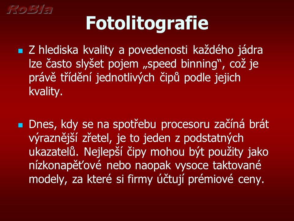 Fotolitografie