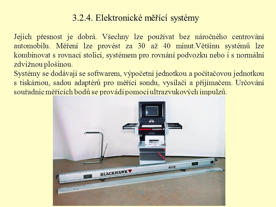 3.2.4. Elektronické měřící systémy