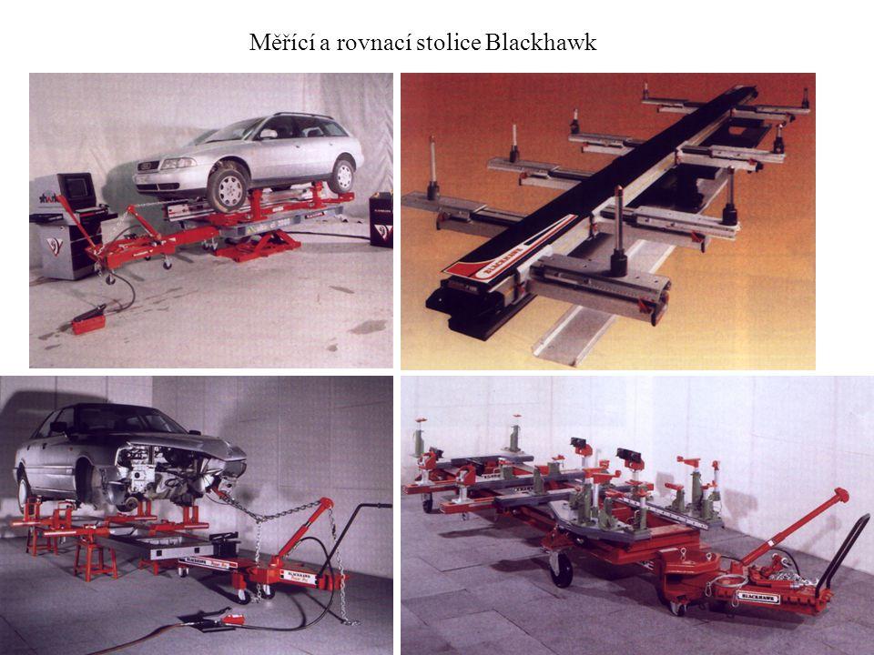 Měřící a rovnací stolice Blackhawk