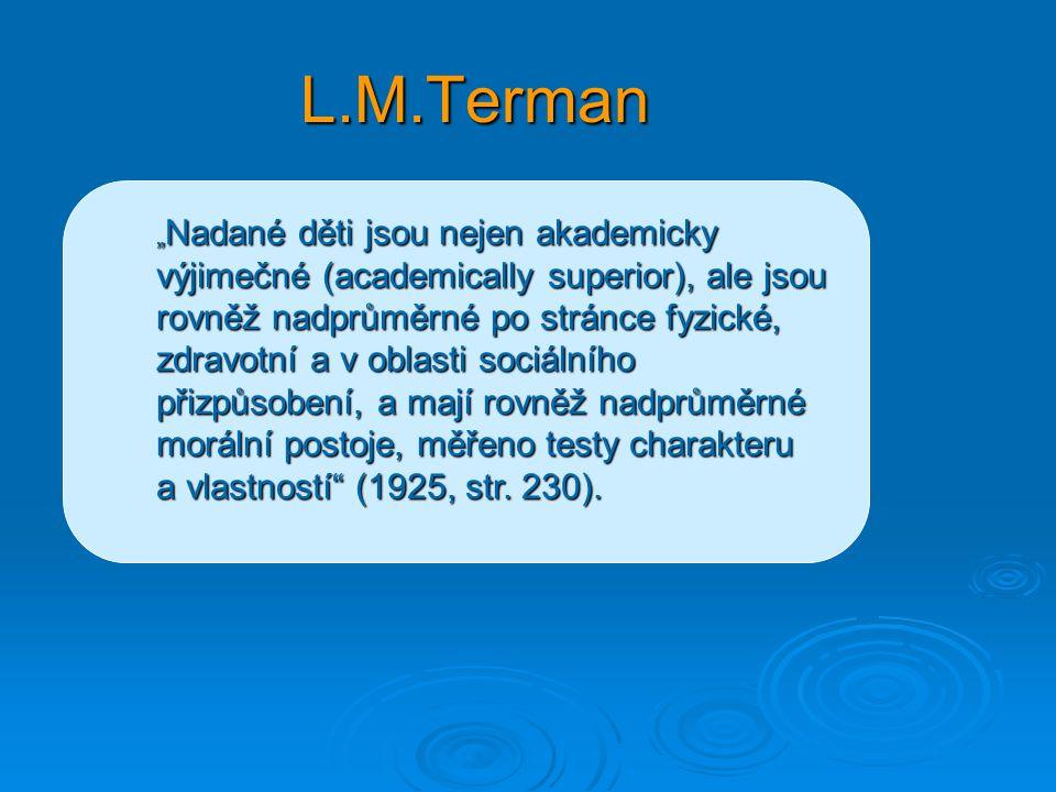 L.M.Terman