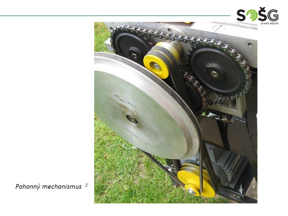 Pohonný mechanismus 2 PWR 201 TOS Svitavy - detail