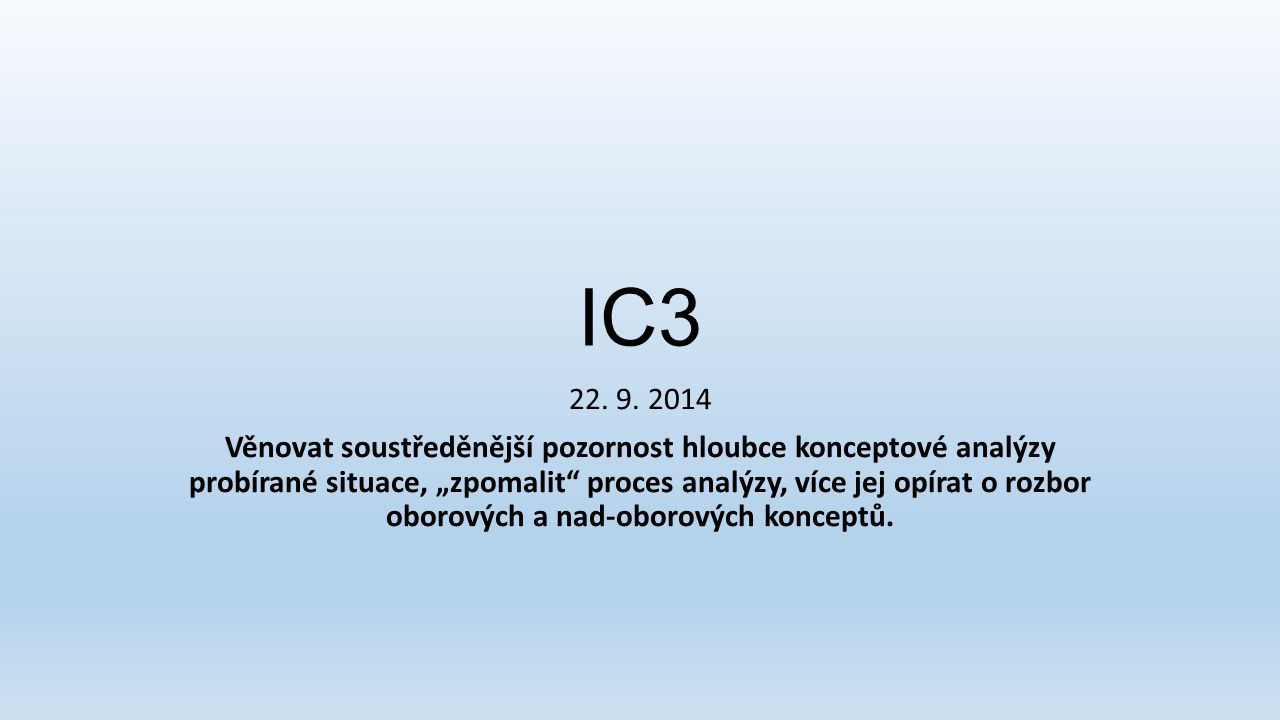 IC3 22. 9. 2014.