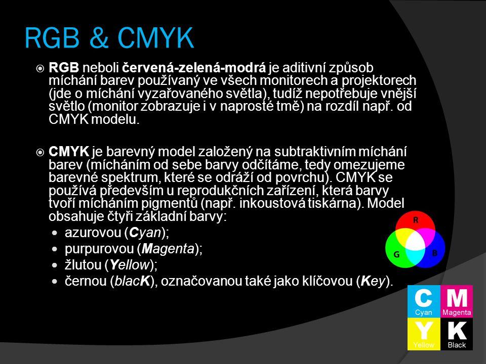 RGB & CMYK