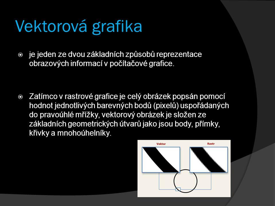 Vektorová grafika je jeden ze dvou základních způsobů reprezentace obrazových informací v počítačové grafice.