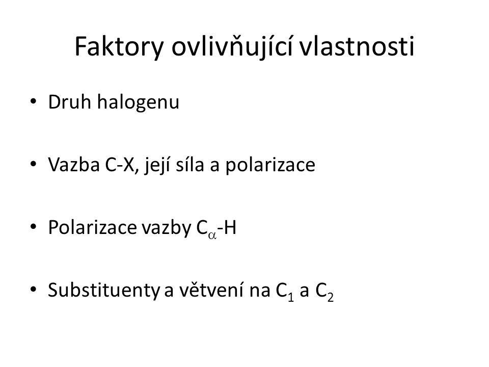 Faktory ovlivňující vlastnosti