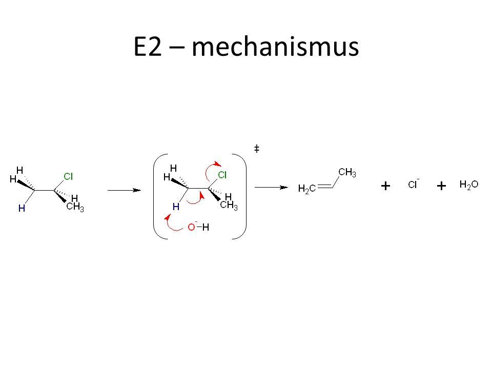 E2 – mechanismus ‡