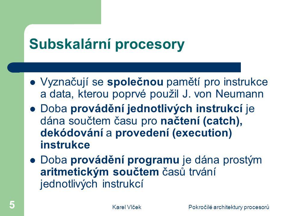 Subskalární procesory