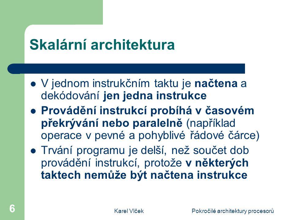 Skalární architektura