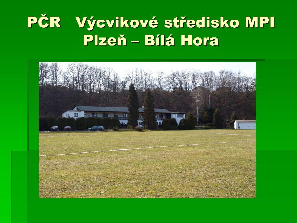 PČR Výcvikové středisko MPI Plzeň – Bílá Hora
