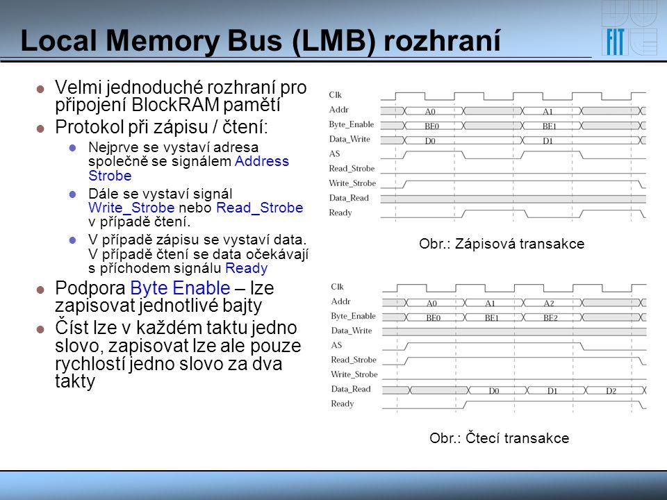 Local Memory Bus (LMB) rozhraní