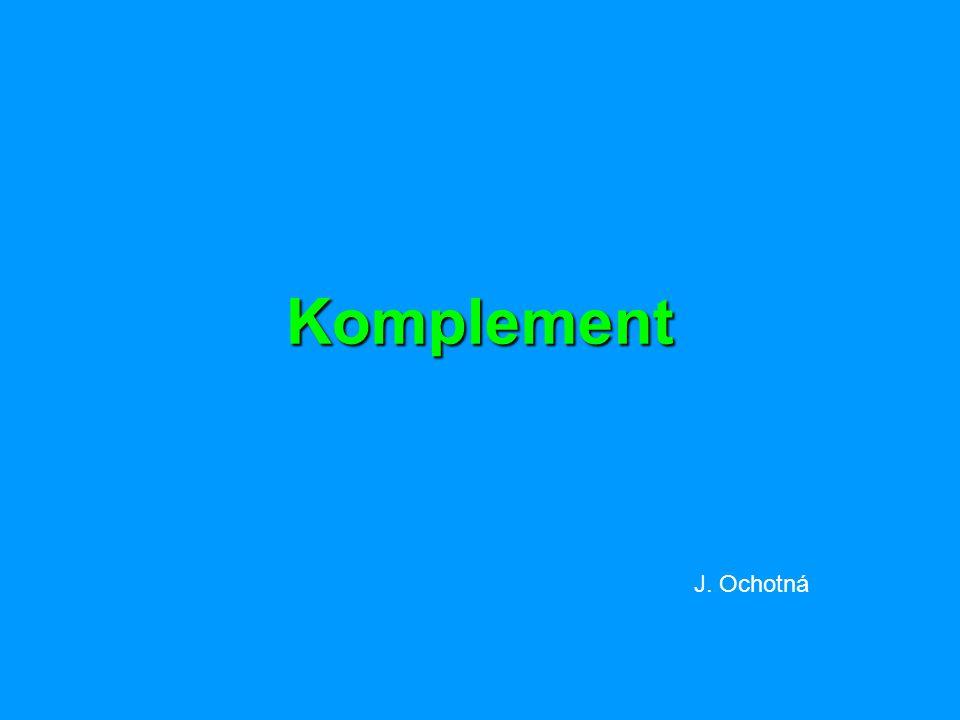 Komplement J. Ochotná