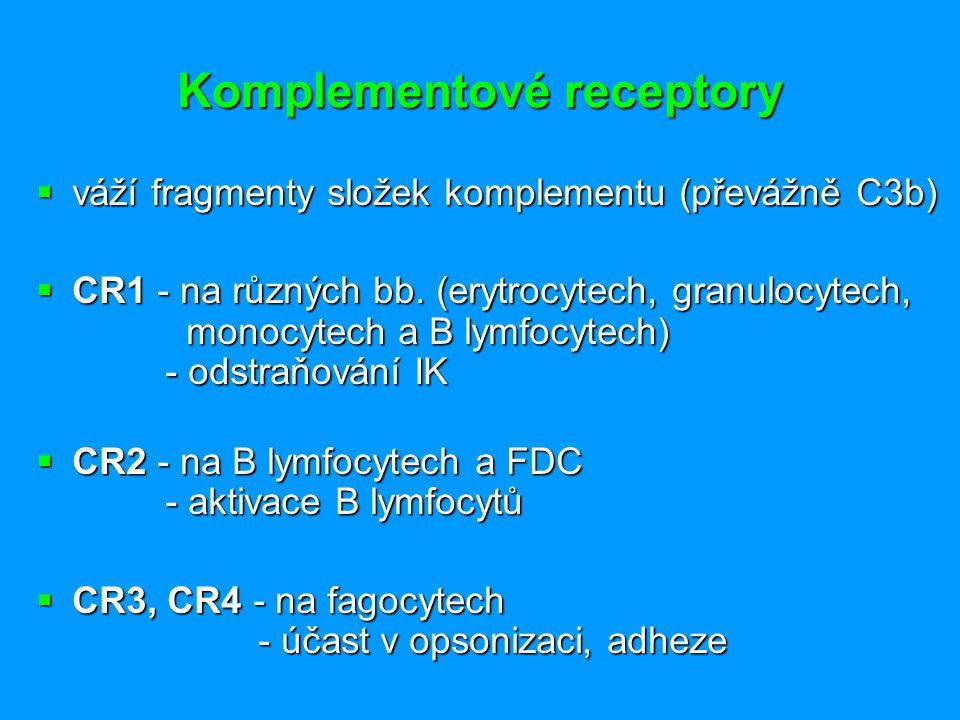 Komplementové receptory