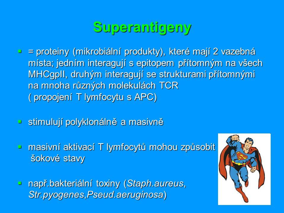 Superantigeny