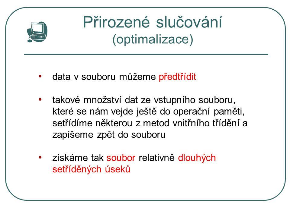 Přirozené slučování (optimalizace)