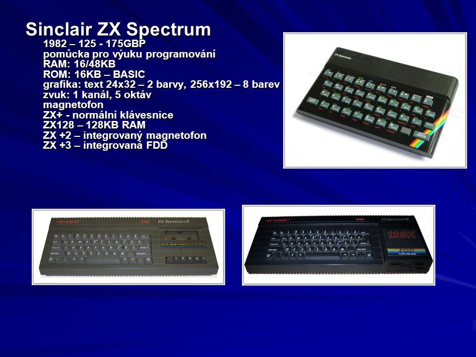Sinclair ZX Spectrum 1982 – 125 - 175GBP