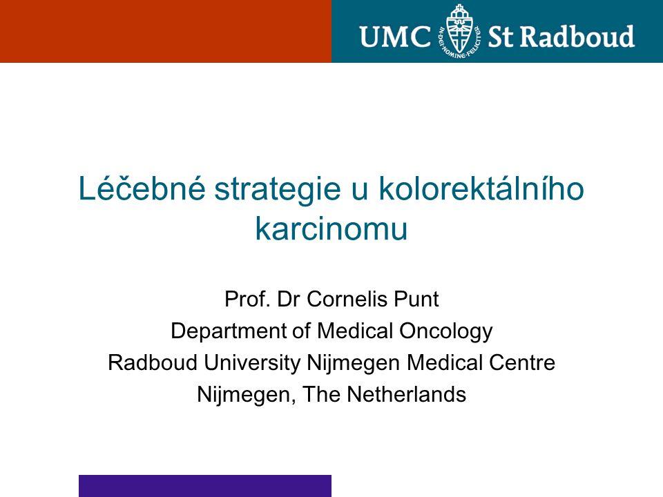 Léčebné strategie u kolorektálního karcinomu