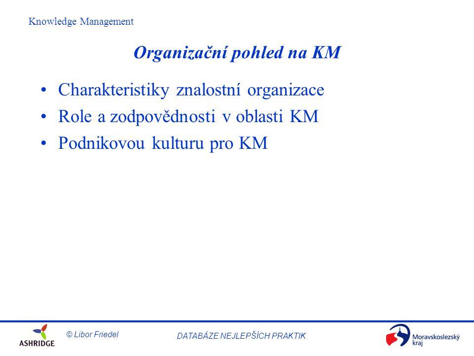 Organizační pohled na KM