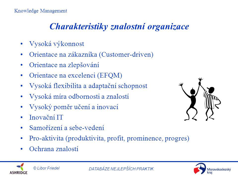 Charakteristiky znalostní organizace