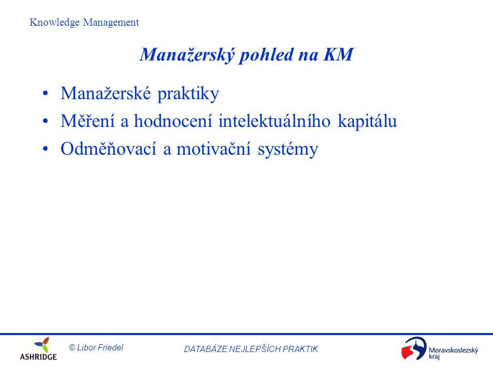 Manažerský pohled na KM