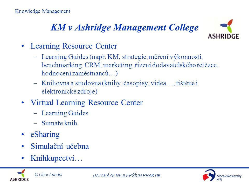 KM v Ashridge Management College