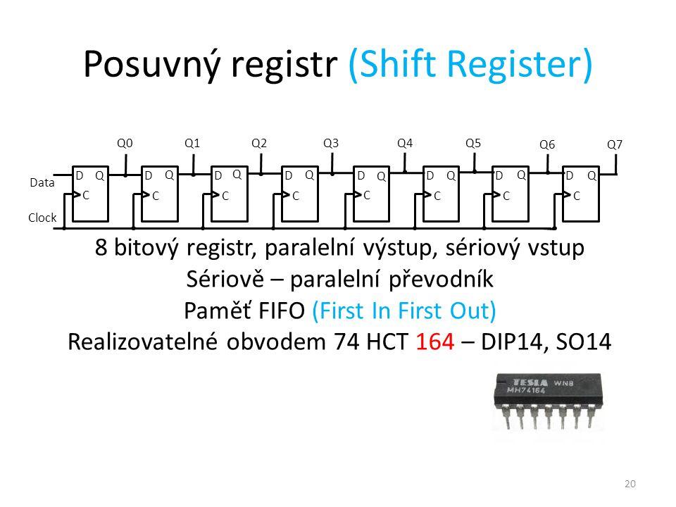 Posuvný registr (Shift Register)