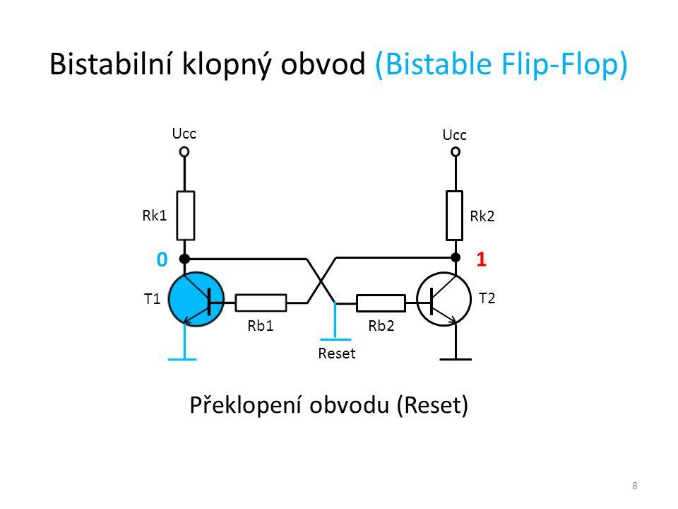 Bistabilní klopný obvod (Bistable Flip-Flop)
