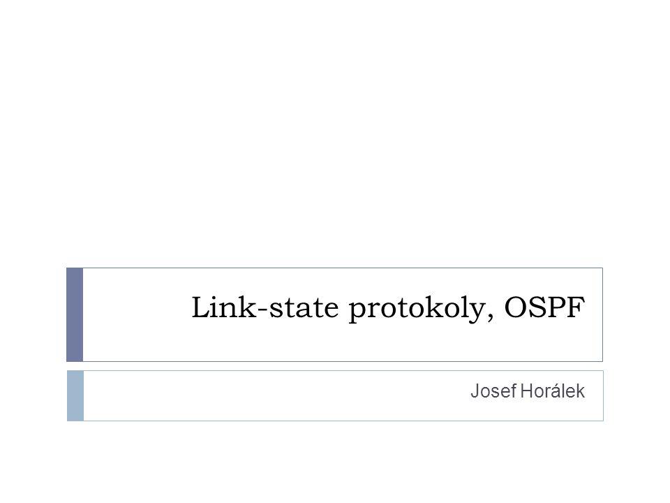 Link-state protokoly, OSPF