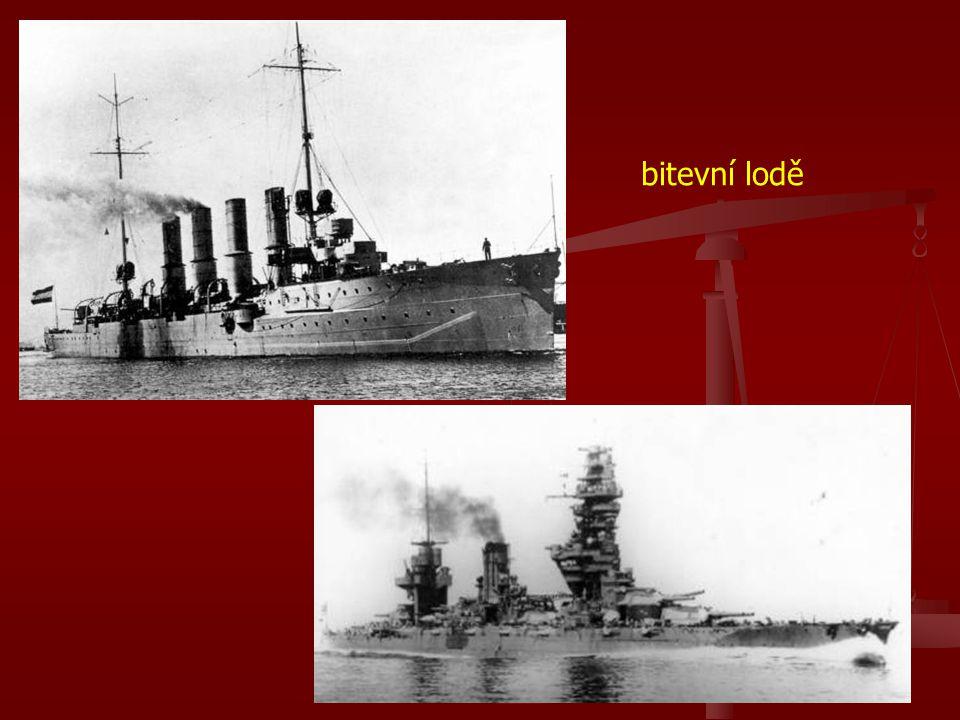 bitevní lodě