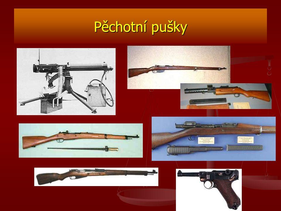 Pěchotní pušky