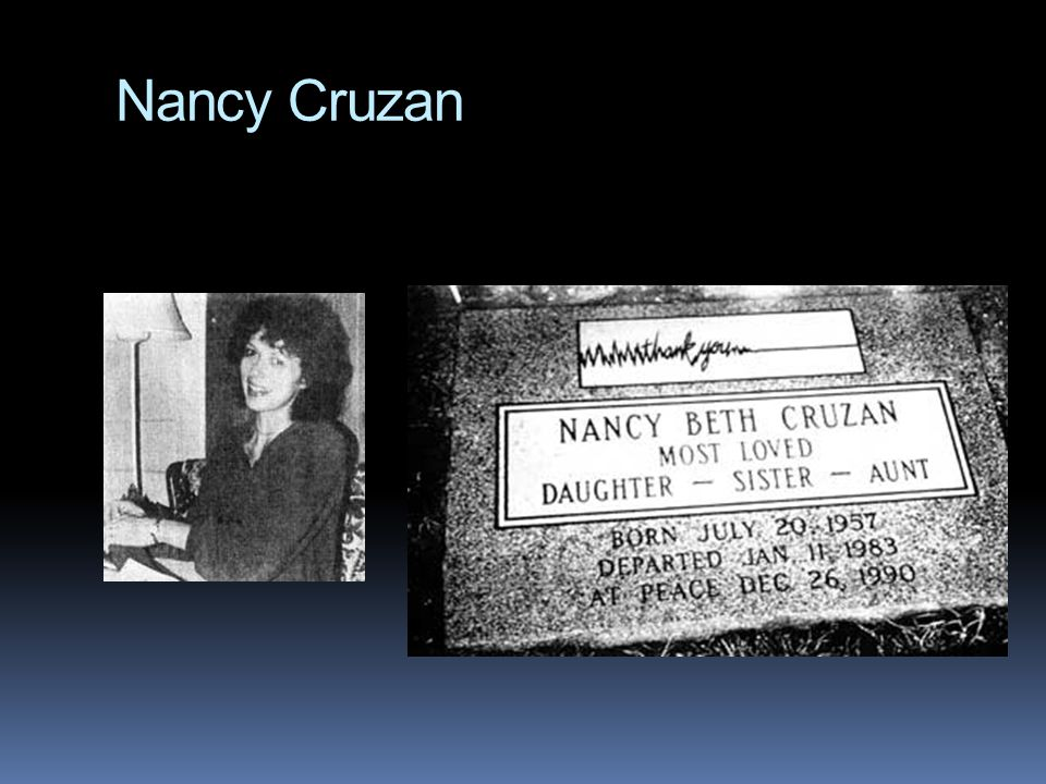 Nancy Cruzan