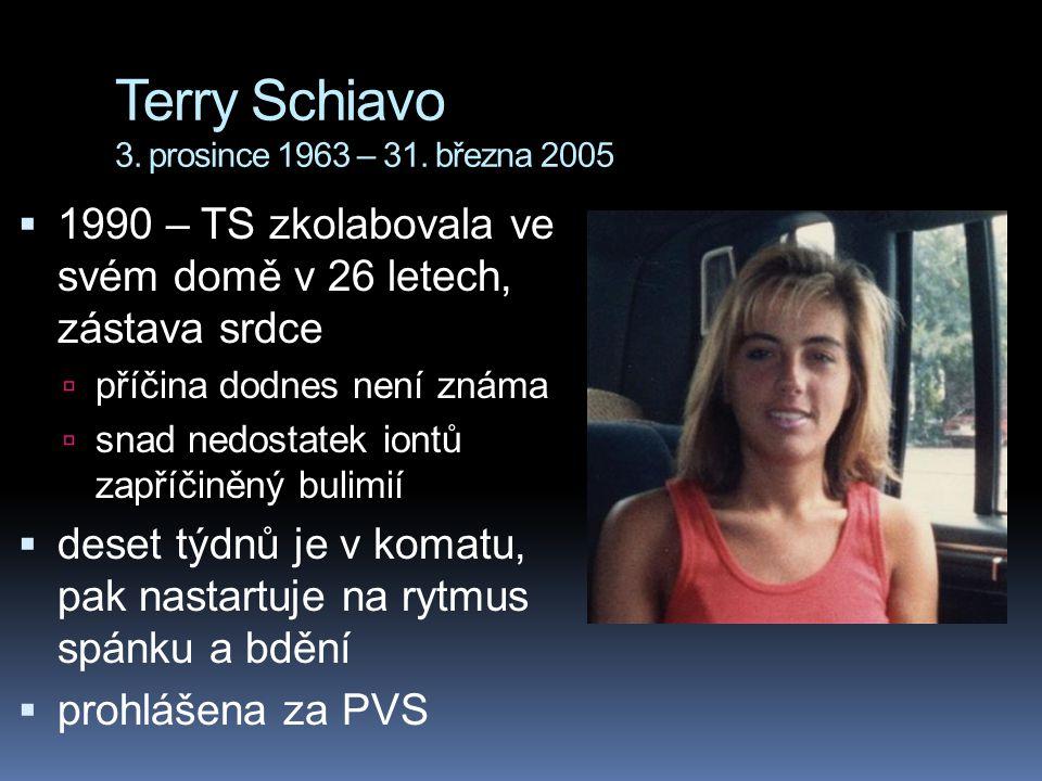 Terry Schiavo 3. prosince 1963 – 31. března 2005