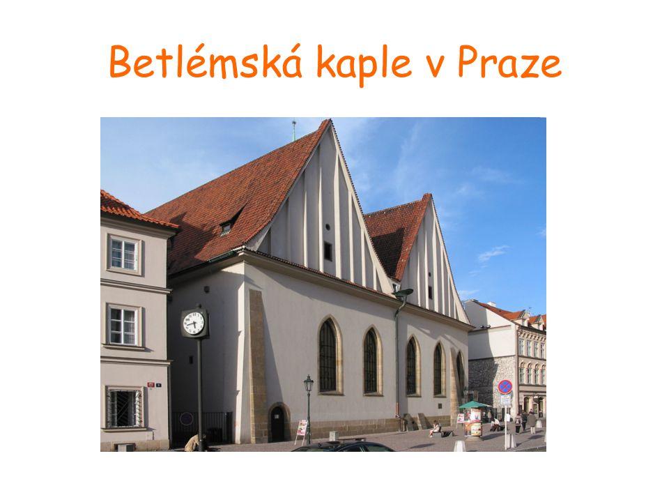 Betlémská kaple v Praze