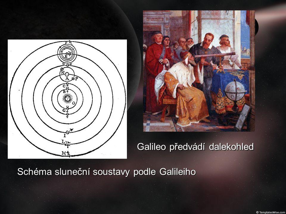Galileo předvádí dalekohled