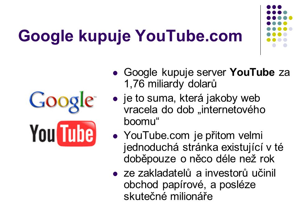 Google kupuje YouTube.com