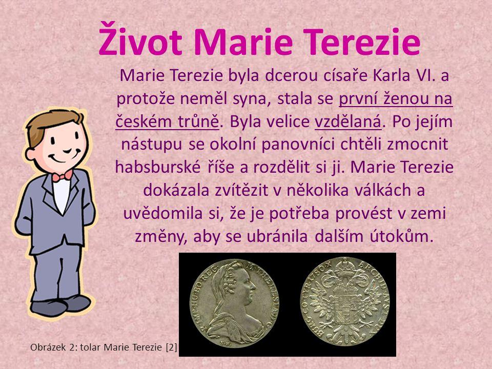 Život Marie Terezie