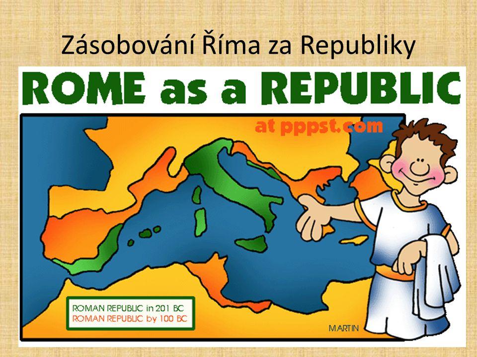 Zásobování Říma za Republiky